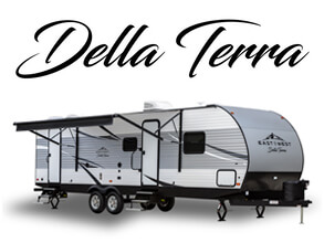 Della Terra Travel Trailer by East to West