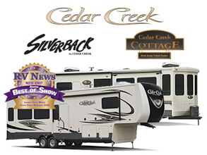 Cedar Creek Fifth Wheel by Forest River