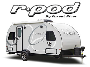 R-Pod Travel Trailers & Hybrid Campers by Forest River RV