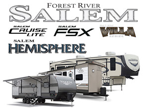 Salem Travel Trailers, Fifth Wheel Campers, & Toy Haulers by Forest River