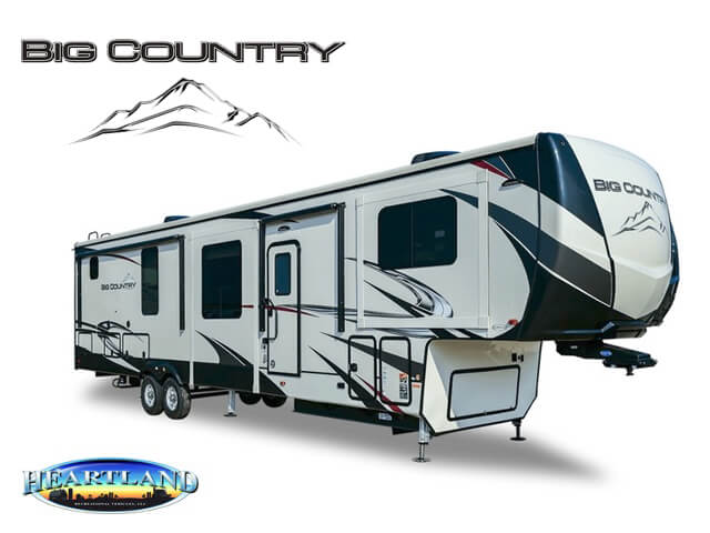 Big Country Fifth Wheels by Heartland